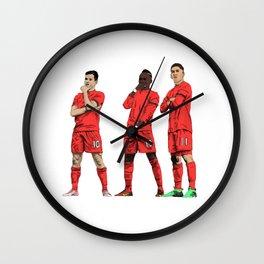 Coutinho, Mané, Firmino Wall Clock