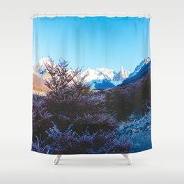 Hiking to Laguna Torre, Patagonia, Argentina Shower Curtain