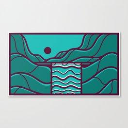 Waterfall II Alternate Canvas Print
