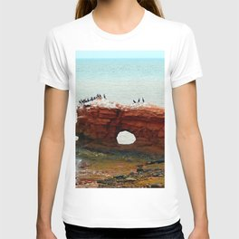 Sandstone Formation in PEI T-shirt