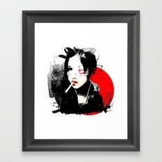 Shiina Ringo - Japanese singer Framed Art Print