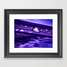purple dream IV Framed Art Print