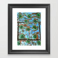 Mississippi Blue Framed Art Print