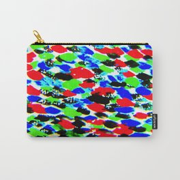 Art Bright Abstract Print Carry-All Pouch
