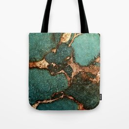 EMERALD AND GOLD Tote Bag
