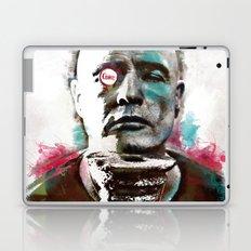 Marlon Brando under brushes effects Laptop & iPad Skin