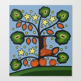 Seed Squash Canvas Print