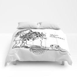 HELLO ZE STROKES Comforters