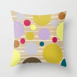 STRIPES & DOTS 4-2018 Throw Pillow