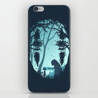chihiro iPhone & iPod Skins featuring Lonely Spirit by filiskun