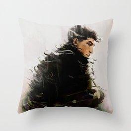 Credence Barebone Throw Pillow