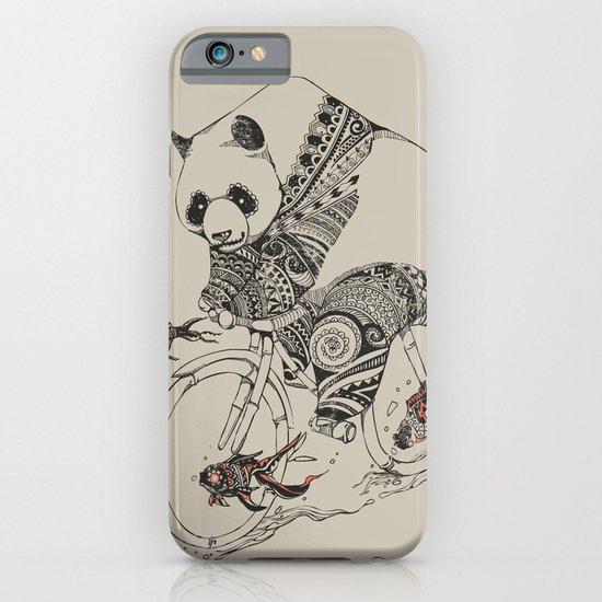 Panda and Follow Fish iPhone & iPod Case