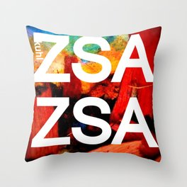 Zsa Zsa (for Craig) Throw Pillow