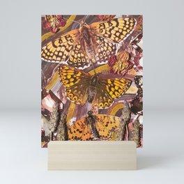 butterfly trip Mini Art Print