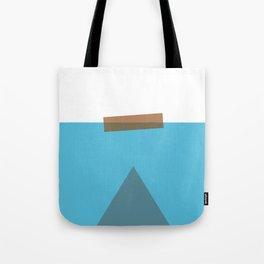 Jaws Minimalist Movie Poster Tote Bag