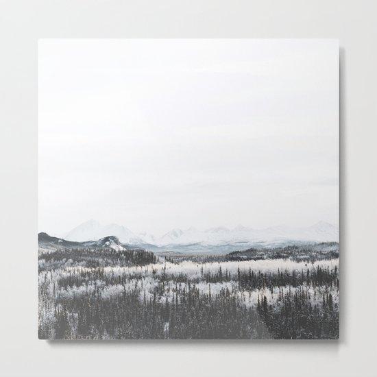 Winter Landscape Metal Print
