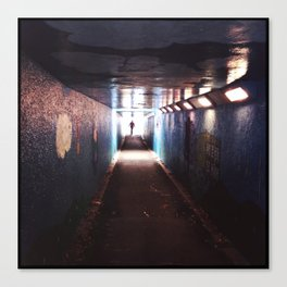 Underpass. Canvas Print