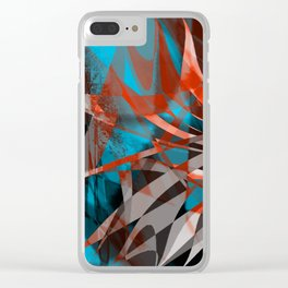 floating menance Clear iPhone Case