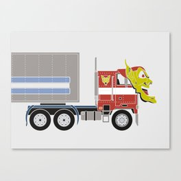 Robot's Wrong Disguise Canvas Print