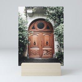 Pretty door in Buenos Aires Mini Art Print