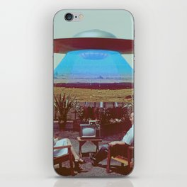 Alien Ship iPhone Skin