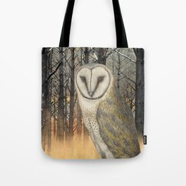 When the shadows eat the moon Tote Bag