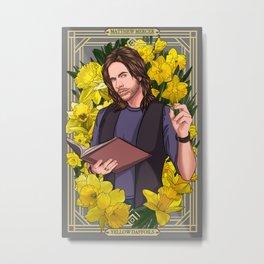 Matthew Mercer :: Yellow Daffodils Metal Print