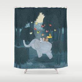 little friends Shower Curtain