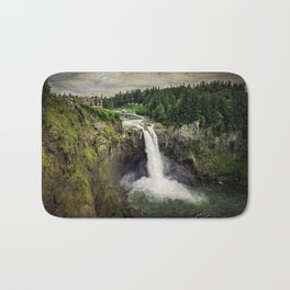 Snoqualmie Falls, Washington Bath Mat