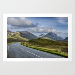 The Cuillin Mountains of Skye 2 Art Print