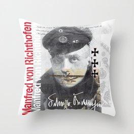 Barón Rojo Throw Pillow