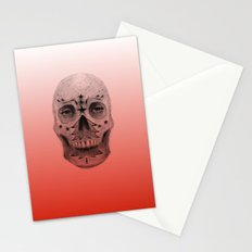 #34 - Christmas Tree Sugar Skull Stationery Cards