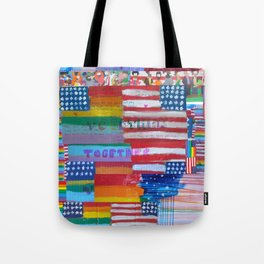 Flags For The Future Mash Up Tote Bag