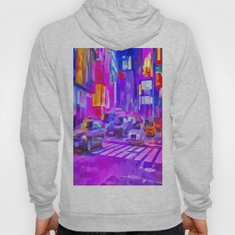 Times Square Pop Art Hoody