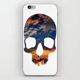 Skull Sunset iPhone Skin