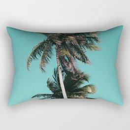 Palm tree vibes Rectangular Pillow