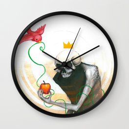 maybe this apple Wall Clock