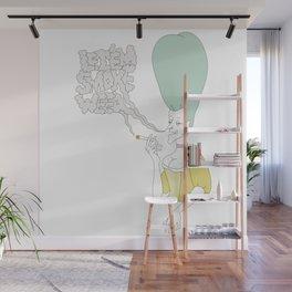 let'em smoke weed Wall Mural