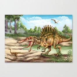 Dinosaur Species Canvas Print
