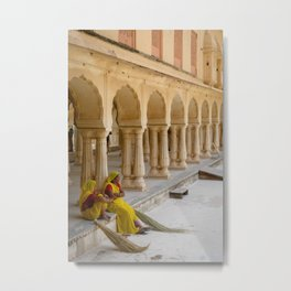 City Palace Sweepers Metal Print