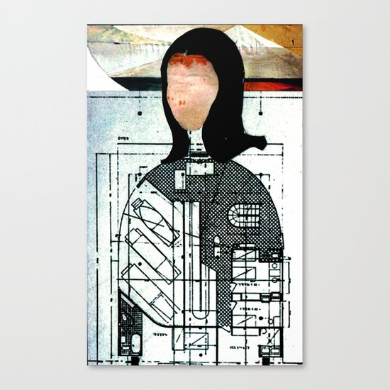 MoNa Collective Canvas Print