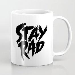 Stay Rad (on White) Coffee Mug