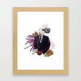 sick minds Framed Art Print
