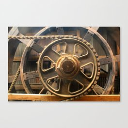 Gears of the Past Canvas Print