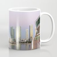 miami Mugs featuring Miami by Tatiana