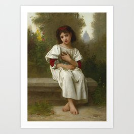 "Elizabeth Jane Gardner Bouguereau ""In the Garden"" Art Print"