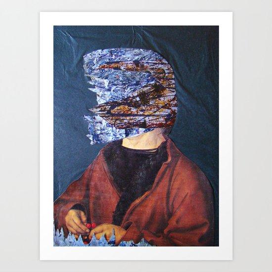 IL ROMANTICO SOMMERSO #2 Art Print