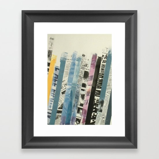 STRIPES 3 Framed Art Print