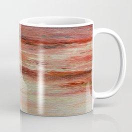 Red Monet's Theme of Waterlilies Coffee Mug