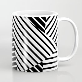 Abstract Striped Triangles Coffee Mug